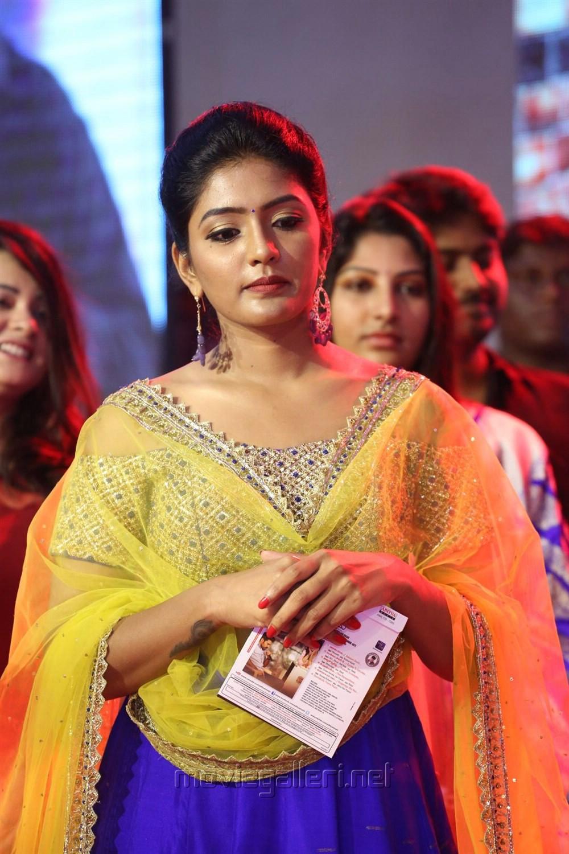 Telugu Actress Eesha Rebba Photos @ Darshakudu Audio Launch