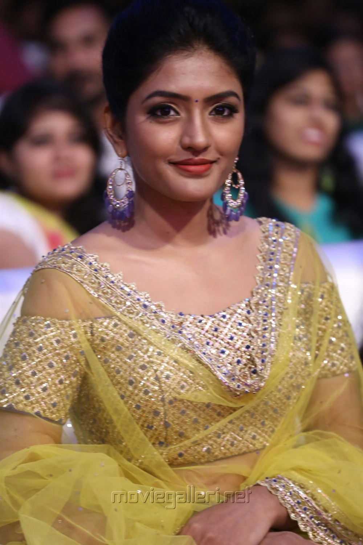 Actress Eesha Rebba Photos at Darshakudu Movie Audio Release Function