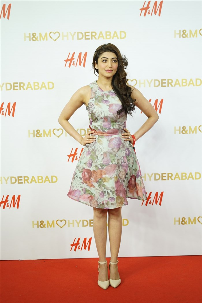 Actress Pranitha Subhash @ H&M's VIP Party Inorbit Mall Hyderabad