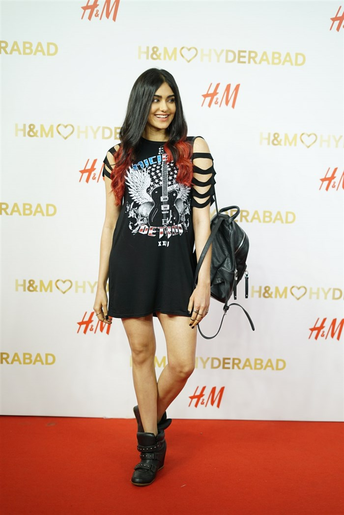 Actress Adah Sharma @ H&M's VIP Party Inorbit Mall Hyderabad