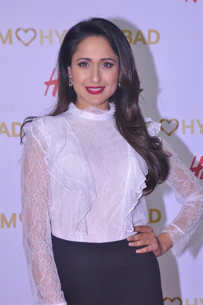 Actress Pragya Jaiswal @ H&M's VIP Party Inorbit Mall Hyderabad