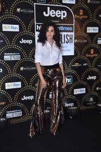 Actress Taapsee Pannu @ HT Most Stylish Awards 2019 Photos