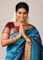 Tamil Actress Kalyani Saree Photoshoot Stills