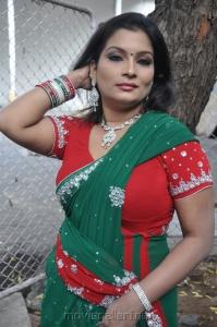 Actress Kumtaj Hot Saree Photos at Idhuthanda Chennai Opening