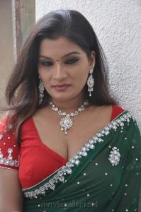 Actress Kumtaj Hot Saree Photos at Idhuthanda Chennai Movie Launch