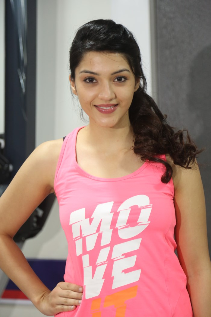 Actress Mehreen Kaur Stills Fitness Health Club Launch Hot Hd
