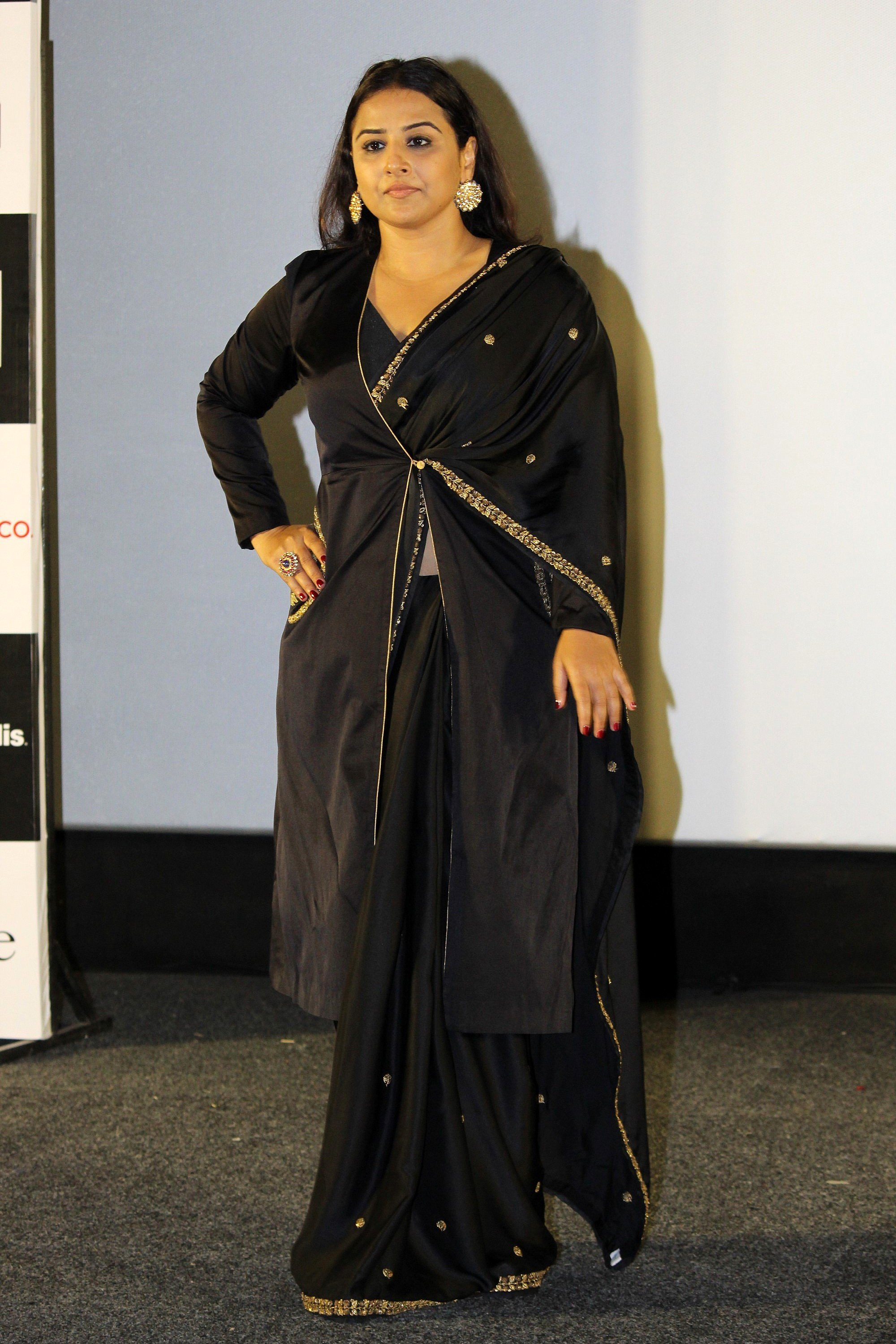 Actress Vidya Balan @ Mission Mangal Trailer Launch Photos