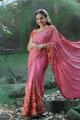 Actress Nithya Menon in Saree Stills