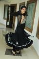 Richa Panai in Black Dress at Yamudiki Mogudu Logo Launch Function