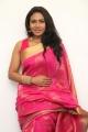 Actress Risha Silk Saree Images @  Saravanan Irukka Bayamaen Press Meet