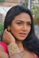 Tamil Actress Risha Saree Images @  Saravanan Irukka Bayamaen Press Meet
