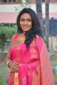 Actress Risha Hot in Sleeveless Saree Images @  Saravanan Irukka Bayamaen Press Meet