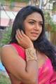 Actress Risha Saree Images @  Saravanan Irukka Bayamaen Press Meet