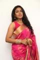 Actress Risha Sleeveless Hot Saree Images @  Saravanan Irukka Bayamaen Press Meet