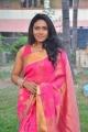 Item Girl Actress Risha Saree Images @  Saravanan Irukka Bayamaen Press Meet