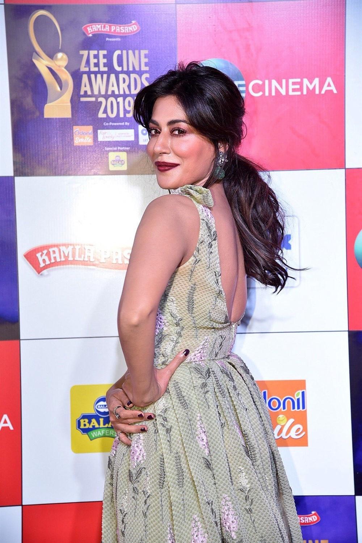 Actress Shama Sikander @ Zee Cine Awards 2019 Red Carpet Photos