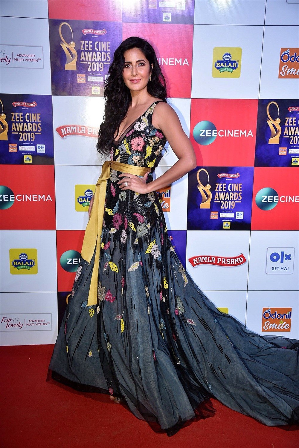 Actress Katrina Kaif @ Zee Cine Awards 2019 Red Carpet Photos