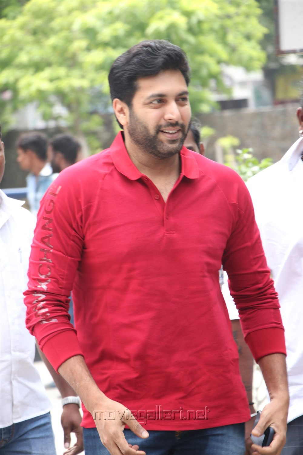 Jayam Ravi @ Adanga Maru Press Meet Stills