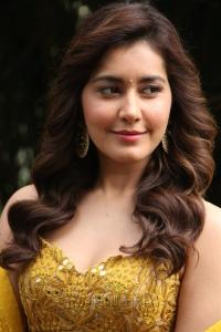 Raashi Khanna @ Adanga Maru Movie Press Meet Stills