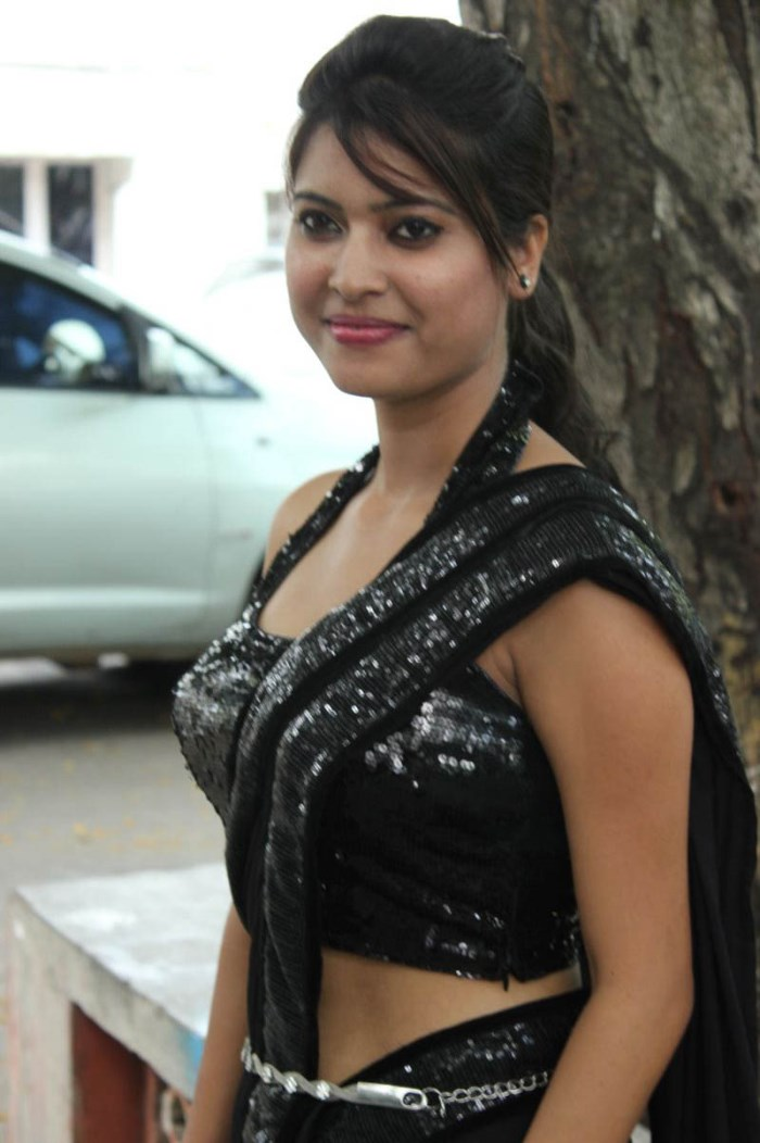 Actress Parichaya at Adharam Palli Arambam Movie Audio Launch Stills