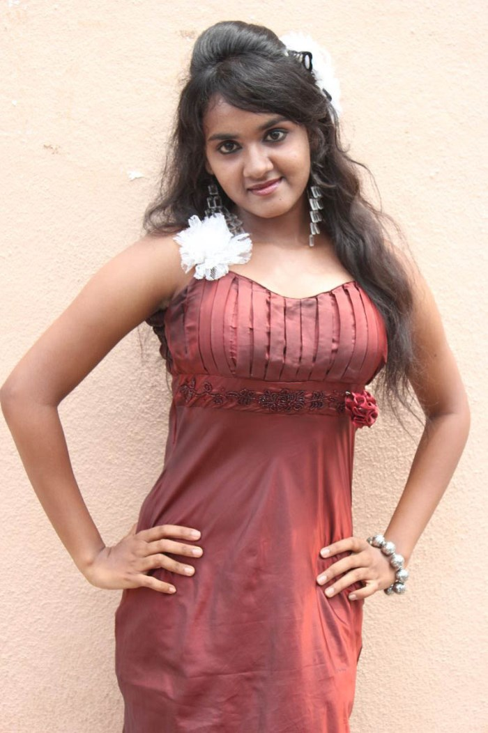 Actress Sahana at Adharam Palli Arambam Movie Audio Launch Stills