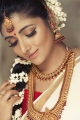 Tamil Actress Adhiti Menon Traditional Saree Photoshoot Stills