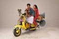 Abhay Krishna, Abhinaya in Adida Melam Movie Stills