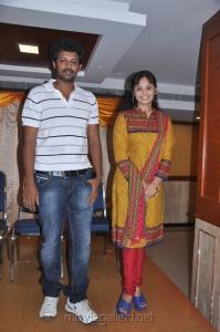 Mahesh, Aarushi at Adithalam Movie Press Meet Stills