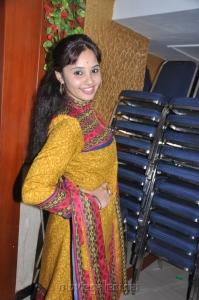 Actress Aarushi at Adithalam Movie Press Meet Stills