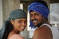 Aarushi, Mahesh in Adithalam Tamil Movie Stills