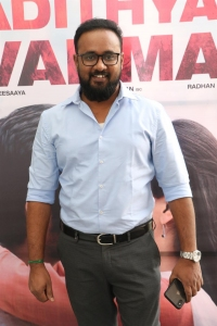 Sakthivelan @ Adithya Varma Success Meet Stills