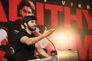 Dhruv Vikram @ Adithya Varma Success Meet Stills