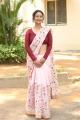 Actress Aditi Myakal Saree Photos @ Eakam Teaser Launch