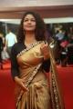 Actress Aditi Myakal Silk Saree Stills @ Mirchi Music Awards 2017