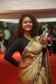 Actress Aditi Myakal Silk Saree Stills @ Mirchi Music Awards South 2017 Red Carpet