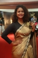 Actress Aditi Myakal Hot Saree Stills @ Mirchi Music Awards South 2017 Red Carpet