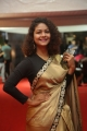 Actress Aditi Myakal Saree Stills @ Mirchi Music Awards 2017