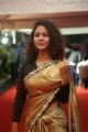 Actress Aditi Myakal Saree Stills @ Mirchi Music Awards South 2017 Red Carpet