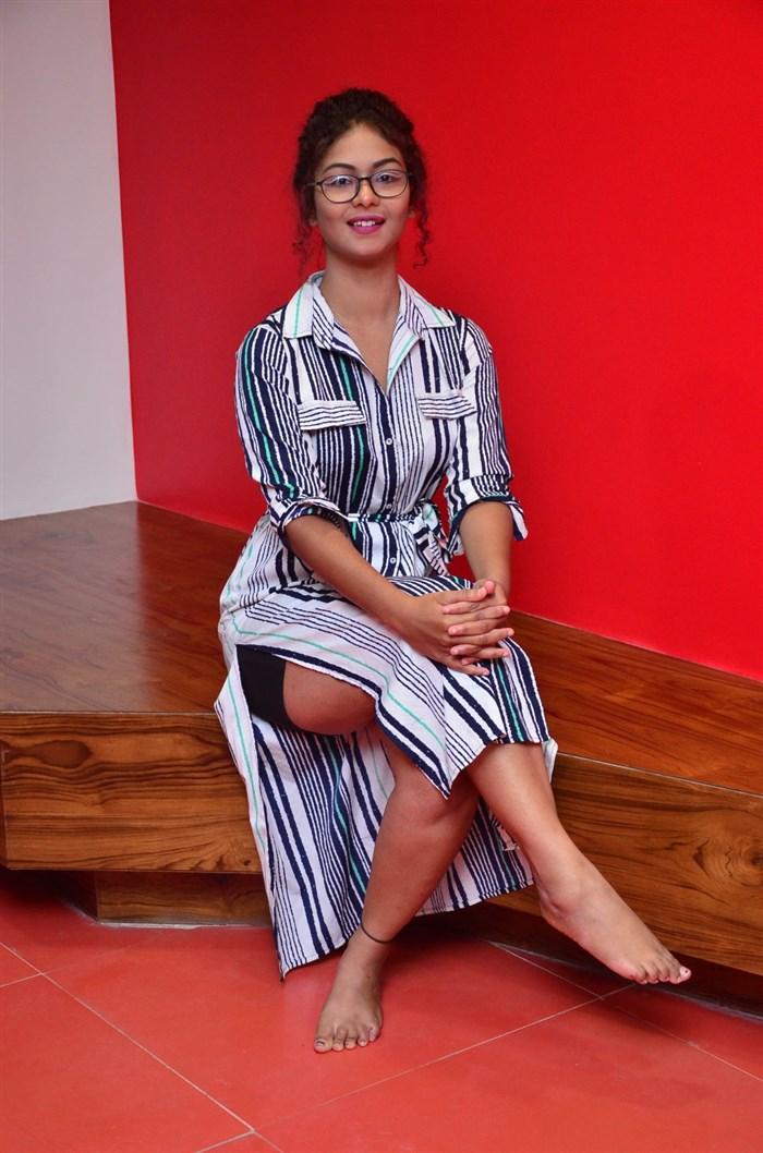 Actress Aditi Myakal Photos @ Ami Tumi 1st Song Launch