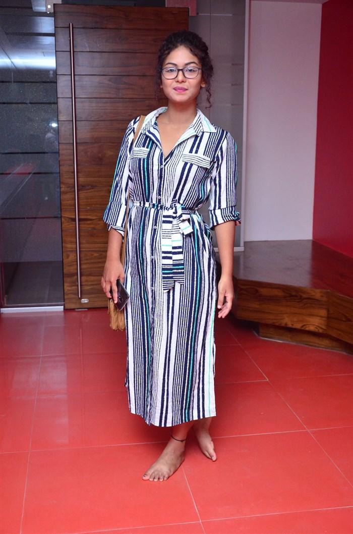 Actress Aditi Myakal Pics @ Ami Tumi 1st Song Launch