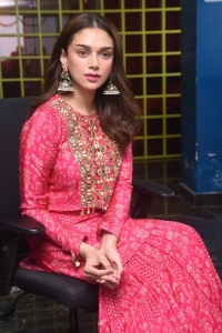 Maha Samudram Heroine Aditi Rao Hydari Interview Pictures