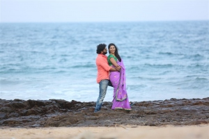John, Kalpana in Adrushyam Movie Stills