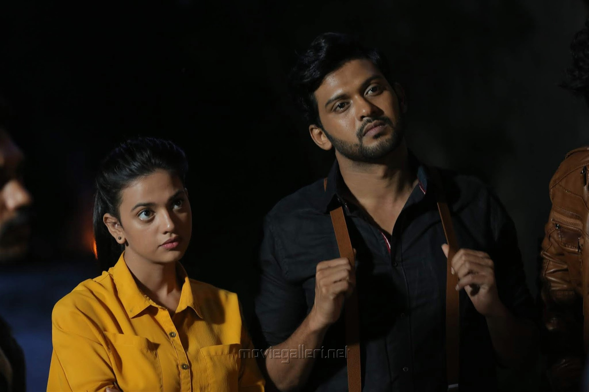 Shruti Sharma, Naveen Polishetty in Agent Sai Srinivasa Athreya Movie Stills