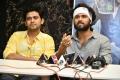 Naveen Polishetty, Vijay Deverakonda @ Agent Sai Srinivasa Athreya Press Meet Stills