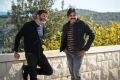 Trivikram Srinivas, Pawan Kalyan @ Agnathavasi Movie Working Stills