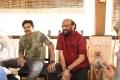 Pawan Kalyan, S Radha Krishna @ Agnathavasi Movie Working Stills