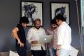 Pawan Kalyan, S Radha Krishna, Trivikram Srinivas @ Agnathavasi Movie Working Stills