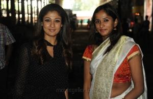 Actress Nayanthara @ AGS Entertainent Production No 16 Pooja Stills