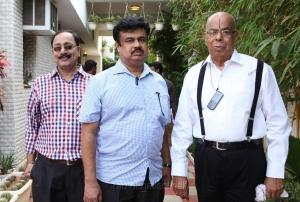 Irumbu Kudhirai Tamil Movie Pooja Stills