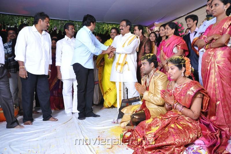 Picture 182105 | Chiranjeevi @ Ahuti Prasad's Son's ...